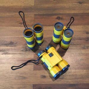 Other - Like new bundle of 3 toy binoculars
